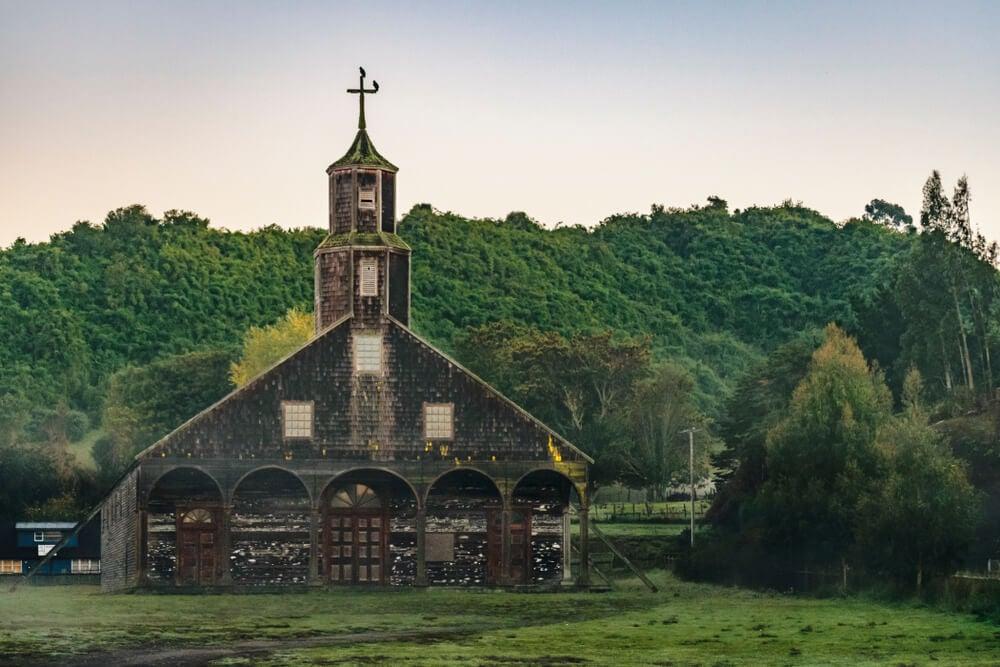 Iglesia de Quinchao en Chiloé
