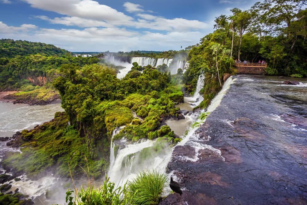 Vista del Parque Nacional de Iguazú en Argentina