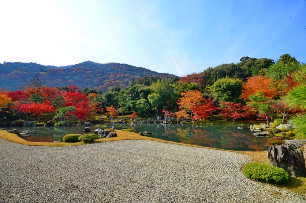 Jardín del templo Tenryuji