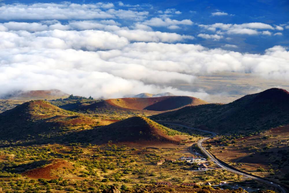 Vista del Mauna Loa