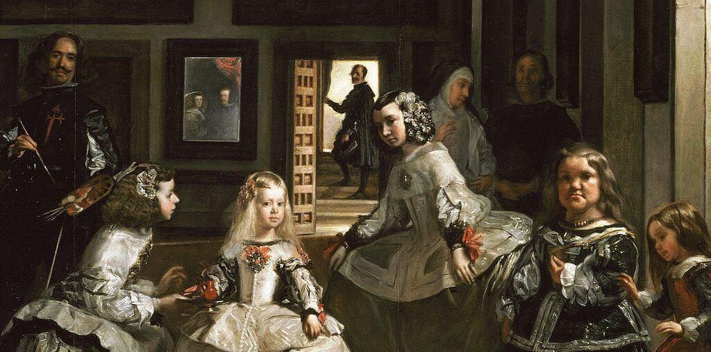 Detalle de 'Las meninas? de Velázquez