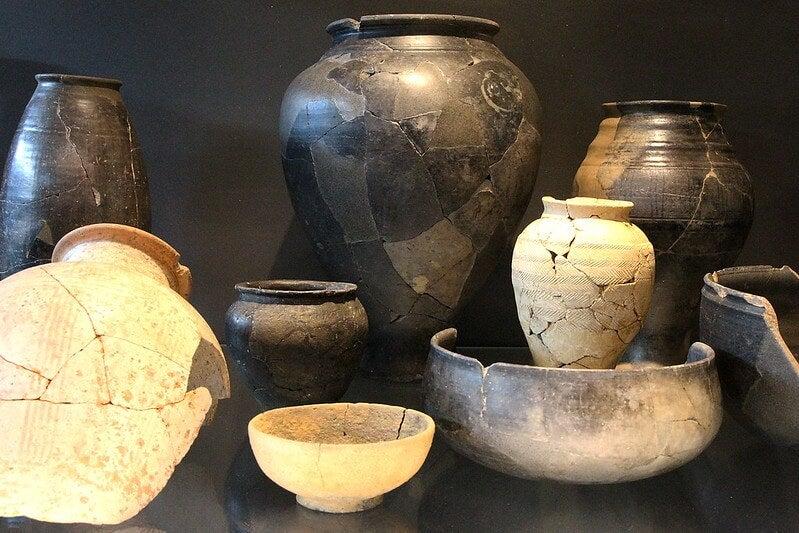 Piezas del Museo de Bibracte