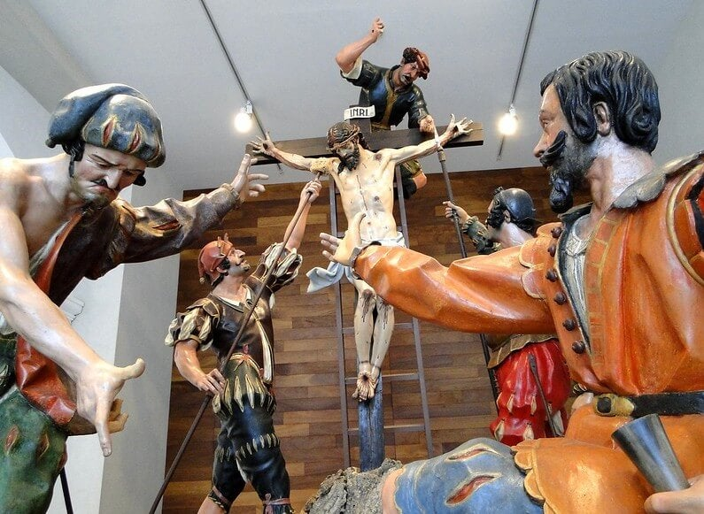 Obra en el Museo Nacional de Escultura