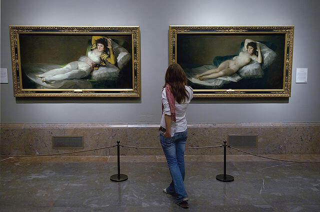Majas de Goya en el Museo del Prado