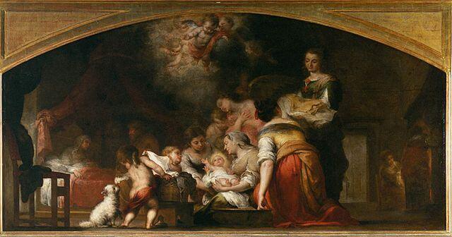El nacimeinto de la Virgen de Murillo, un botín de guerra