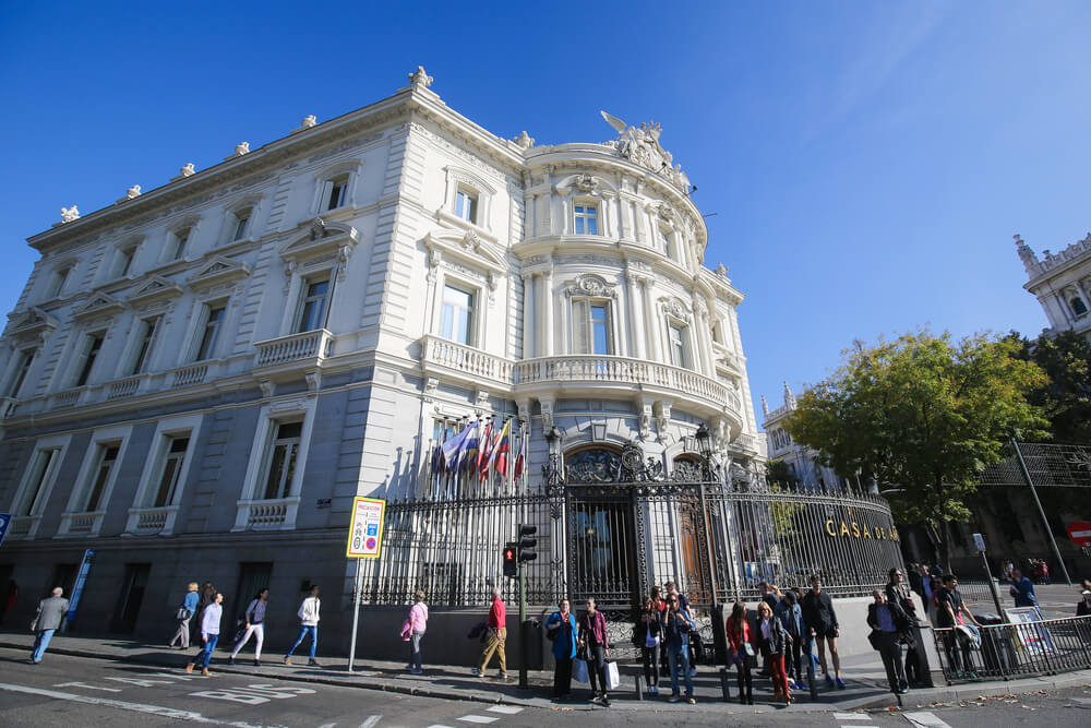 Palacio de Linares deMadrid, uno de los palacios y castillos encantados