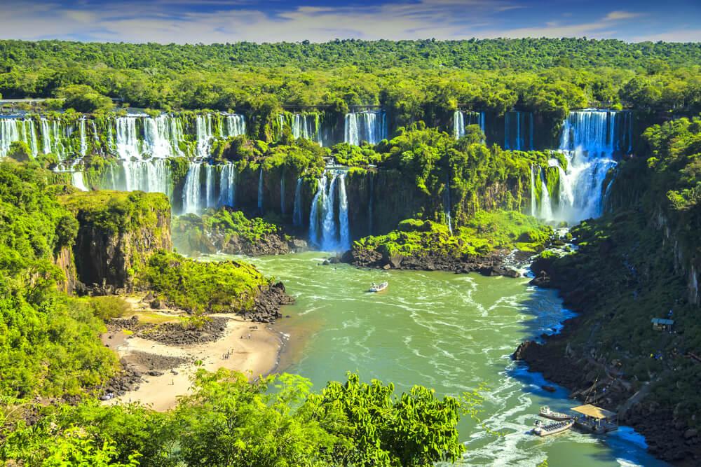 El Parque Nacional de Iguazú en Argentina