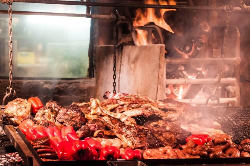 Parrillada, plato de la cocina uruguaya