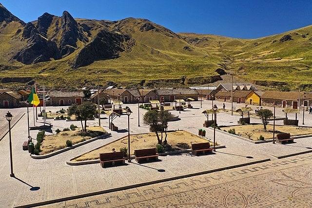 Sibayo, el pueblo de piedra del valle del Colca