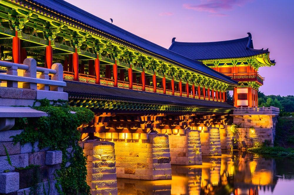 Puente Woljeonggyo en Gyeongju