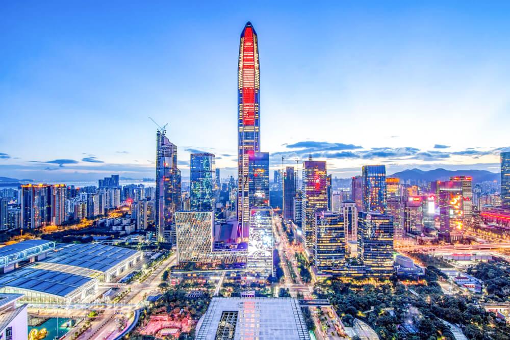Rascacielos en Shenzhen