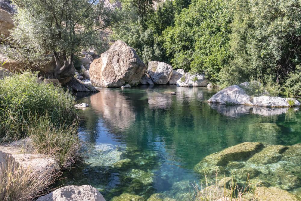 Río Peralta en Pozo Alcón