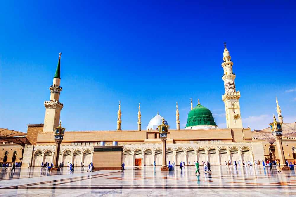 Sagrada mezquita de Medina, inicio de la expansión musulmana