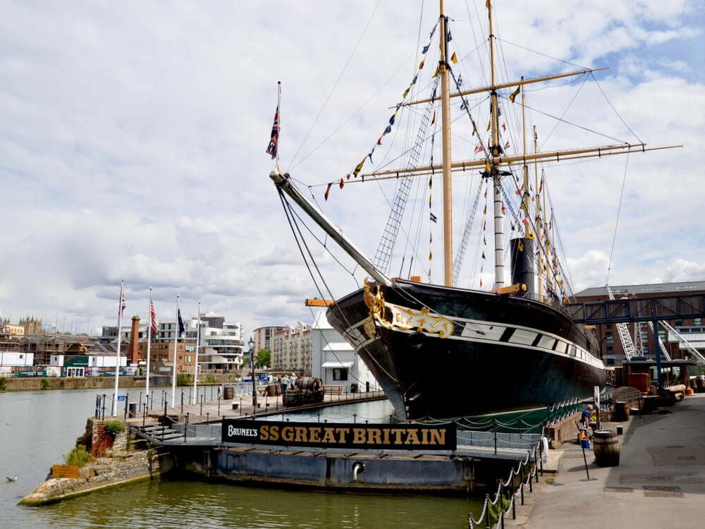 El Brunel's SS Great Britain, un barco con mucha historia