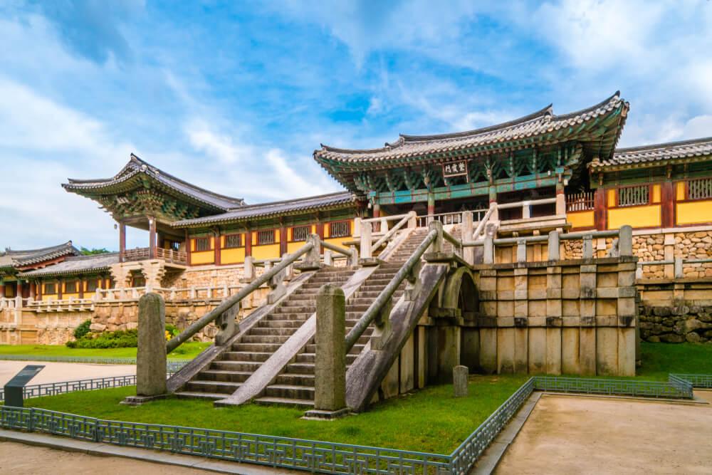 Templo Bulguksa en Gyeongju
