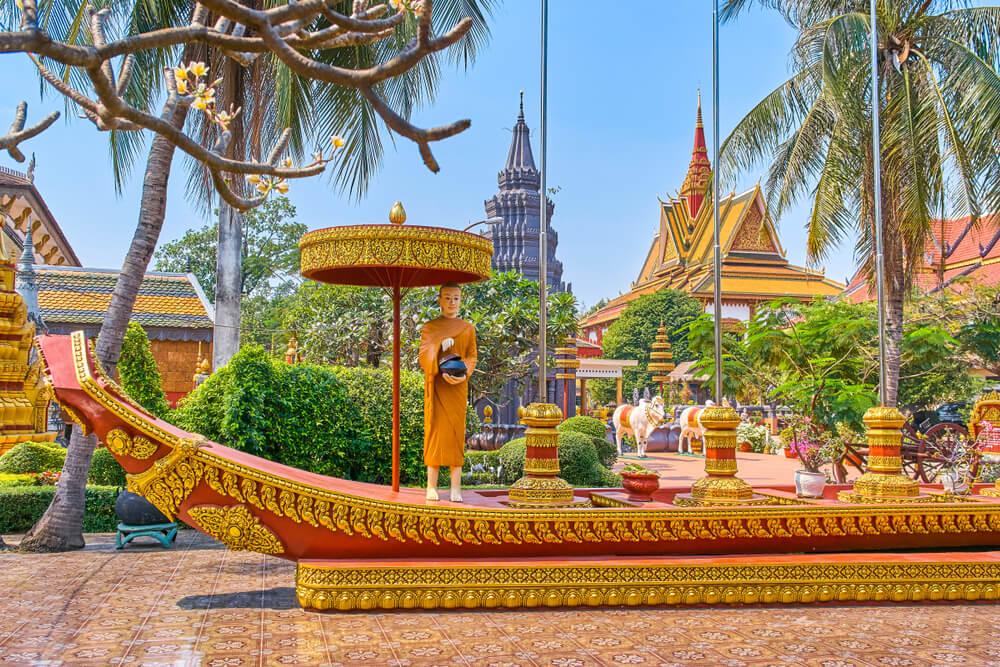 Templo Wat Preah Prom Rath en Siem Reap
