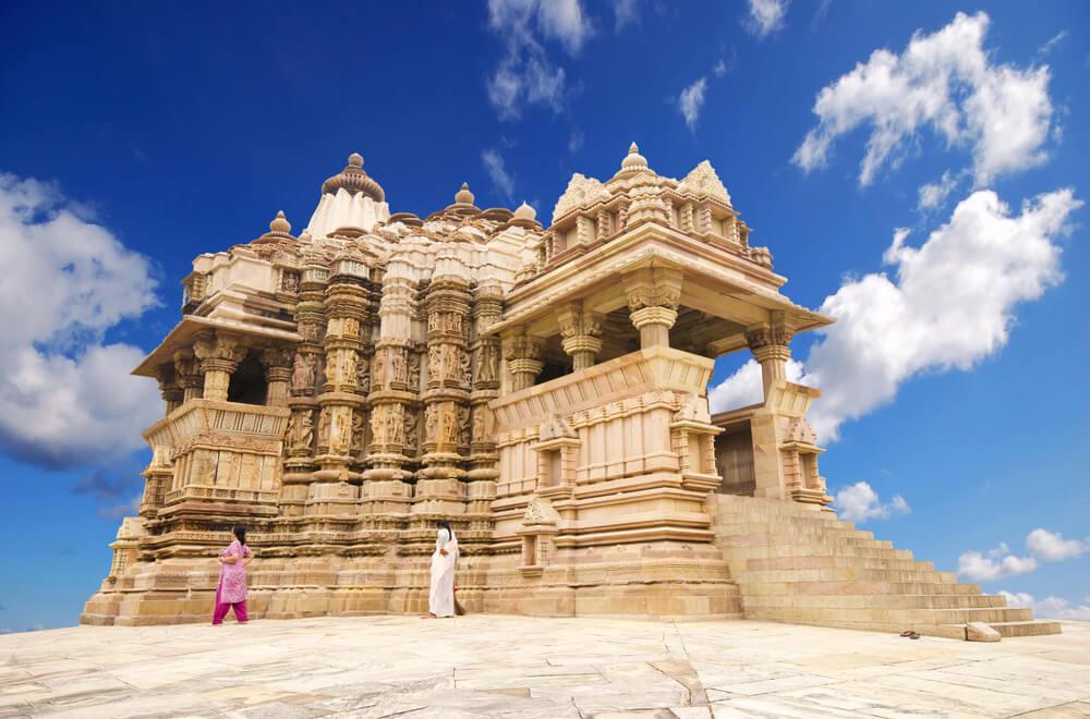 Uno delos templos de Khajuraho