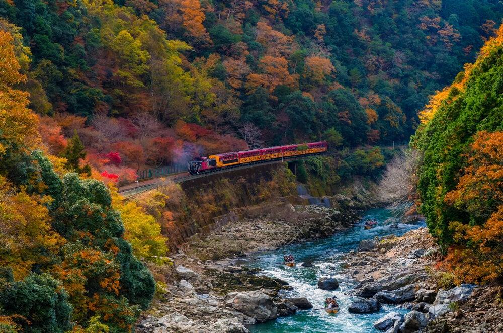 Tren de Sagano
