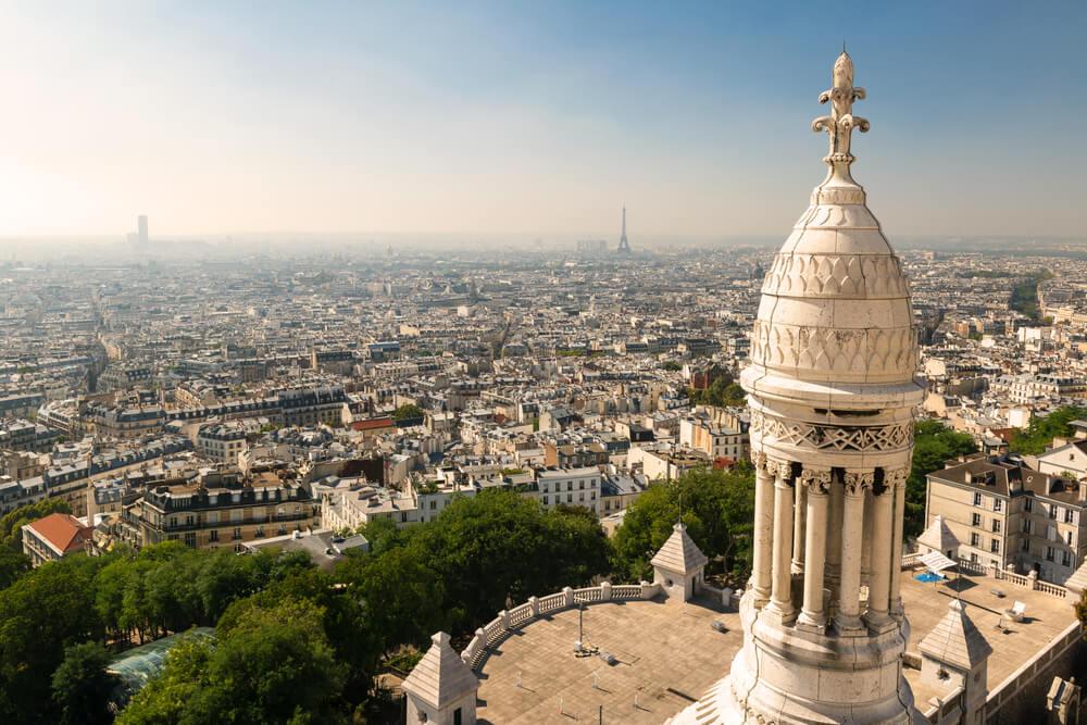 Vista de París desde la cúpula