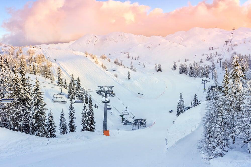 Pistas de esquí en Vogel