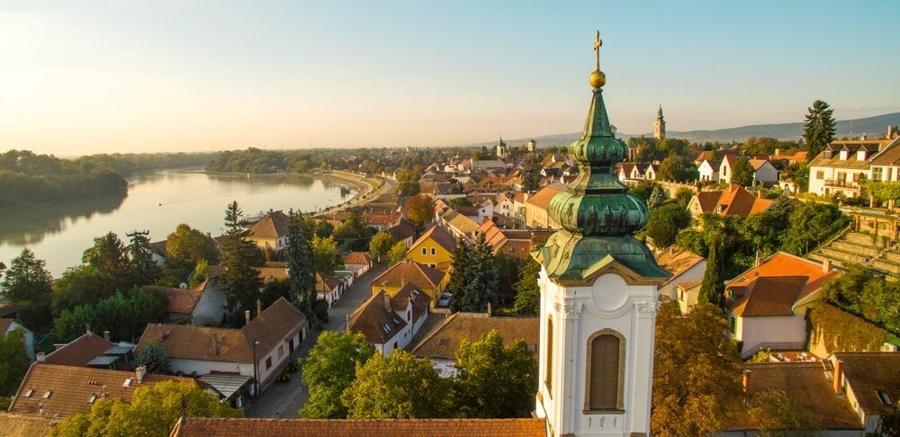 Vista del Danubio