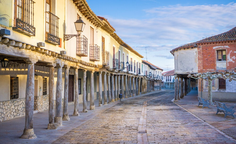 Ampudia, uno de los pueblos de la provincia de Palencia más bonitos