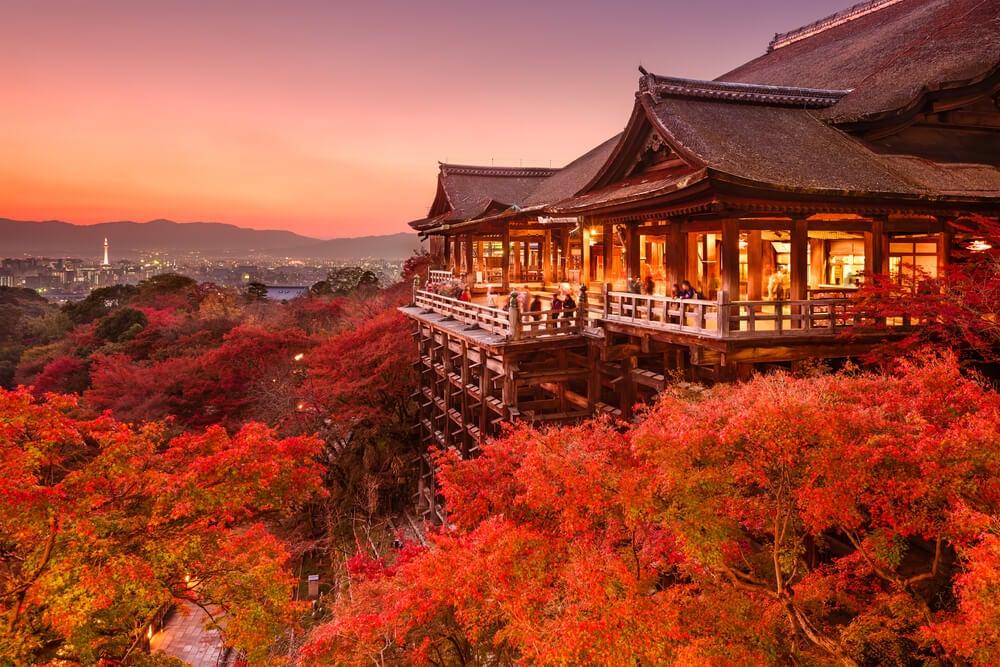 Balcón del templo Kiyomizu-dera