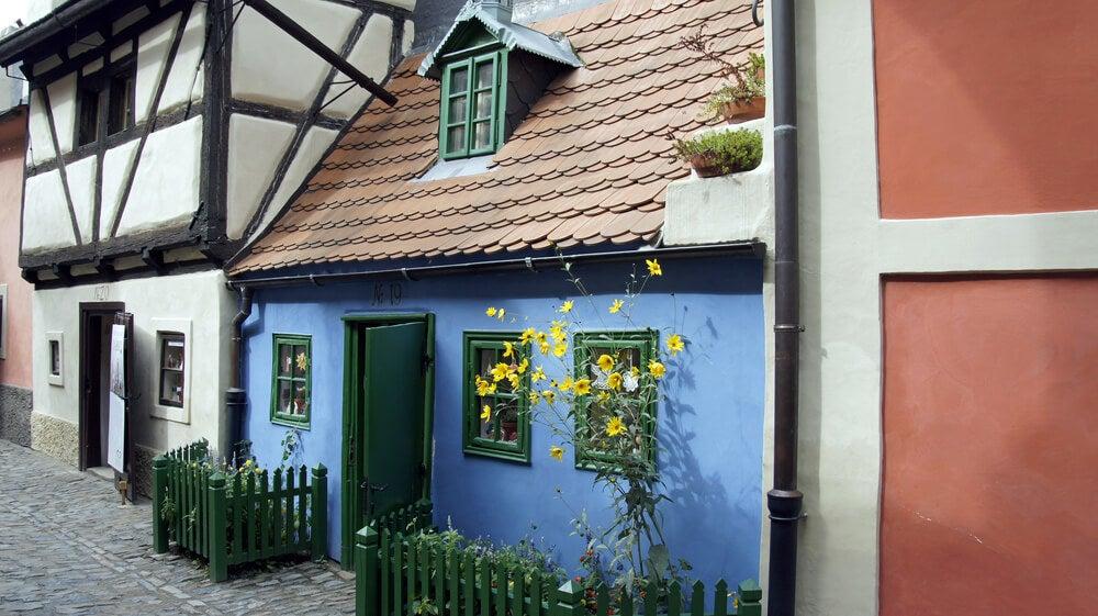 Casa en el callejón del Oro
