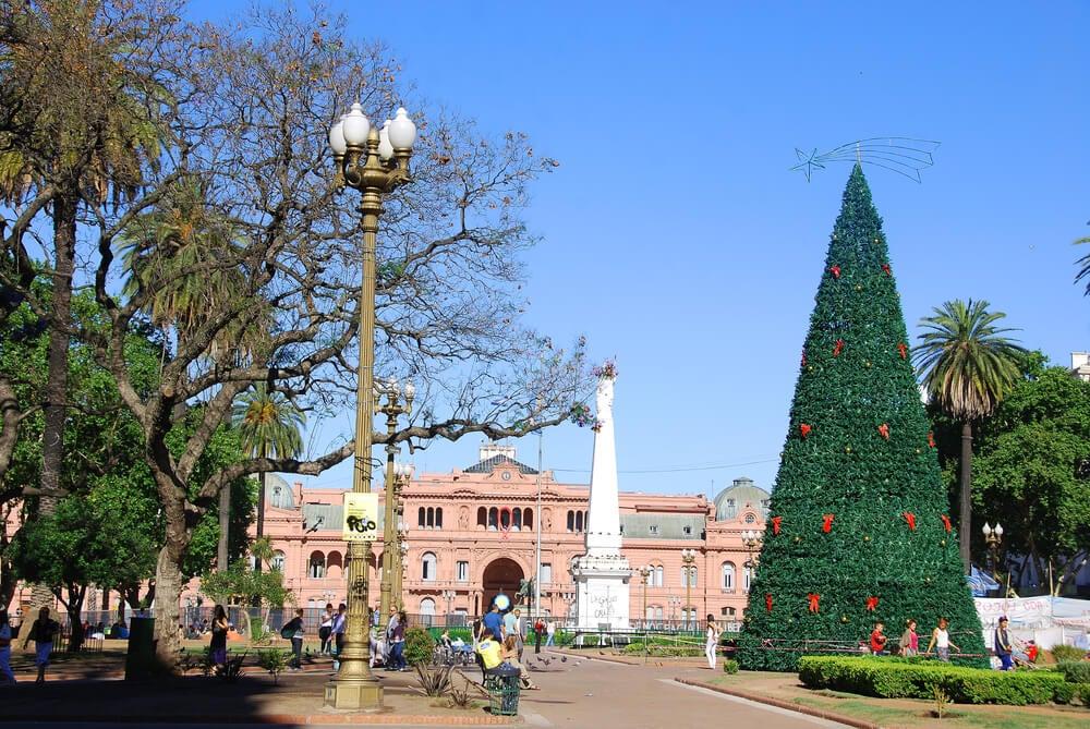 Casa Rosada en Buenos Aires
