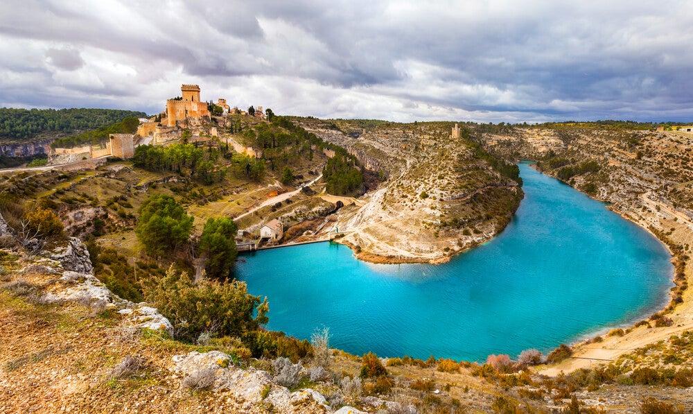 Castillo de Alarcón en la provincia de Cuenca