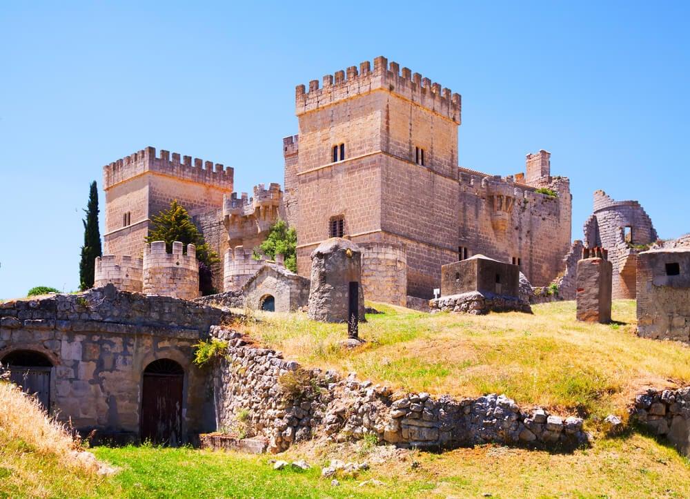 Castillo de Ampudia, uno de los pueblos de la provincia de Palencia
