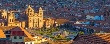 Catedral y plaza de Armas de Cuzco