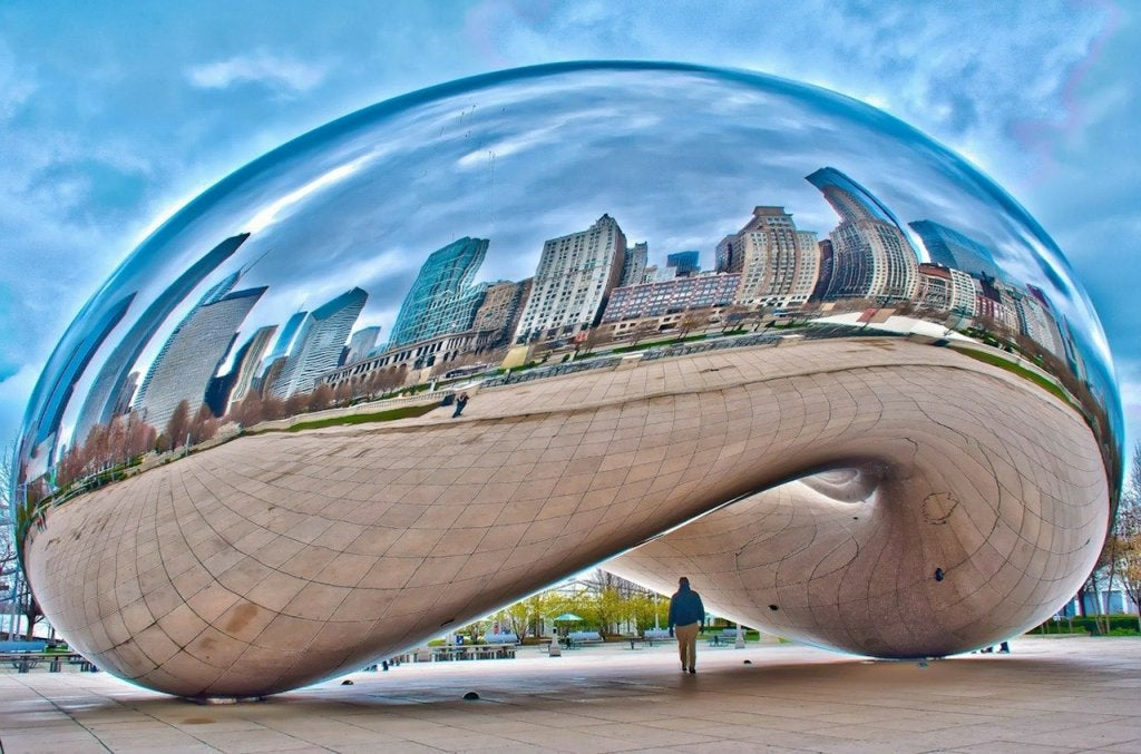 Cloud Gate, un monumento singular de Chicago