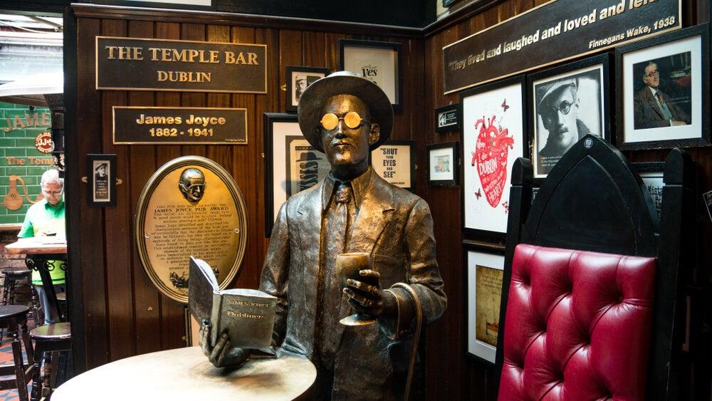 Disfruta de una ruta literaria por Dublín