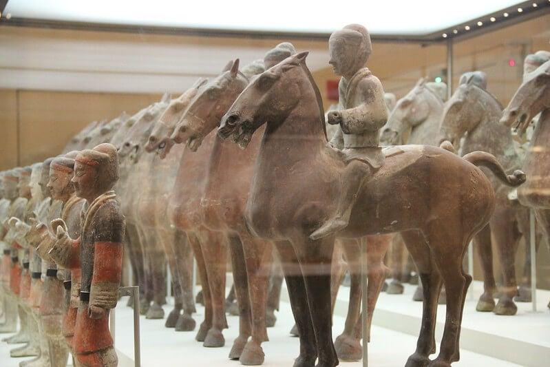 Exposición en el Museo Nacional de China