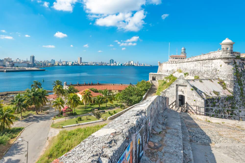 Castillo de El Morro en la Habana