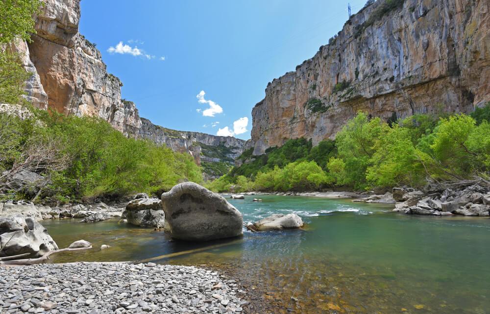 La Foz de Lumbier, un fabuloso cañón en Navarra