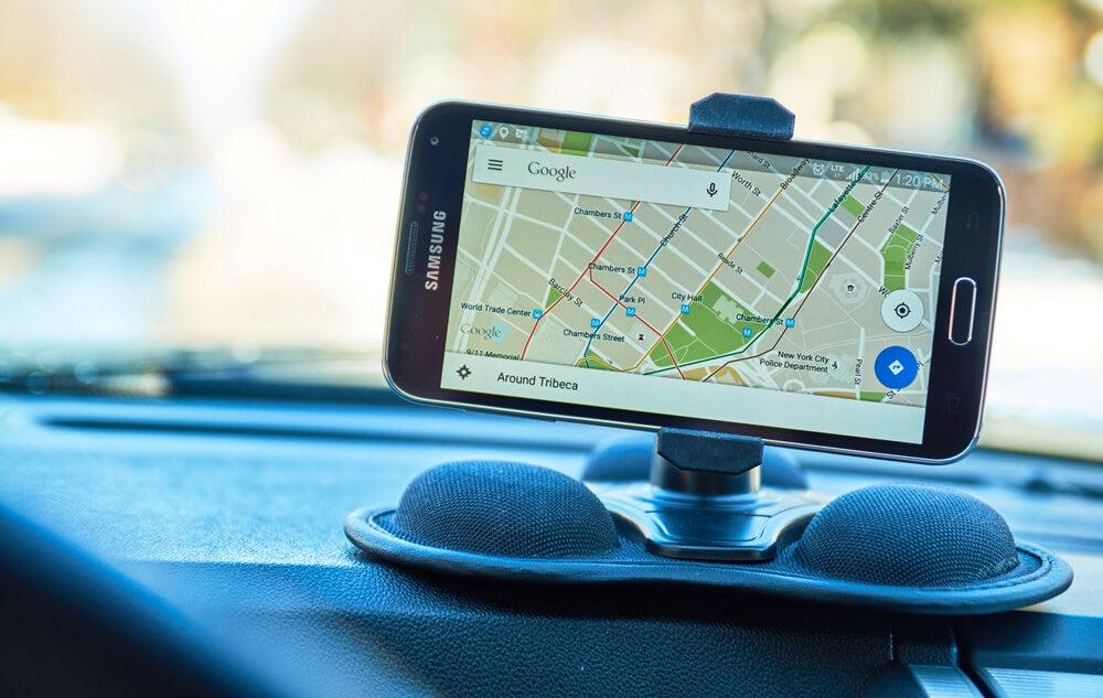 Dispositivo en un coche