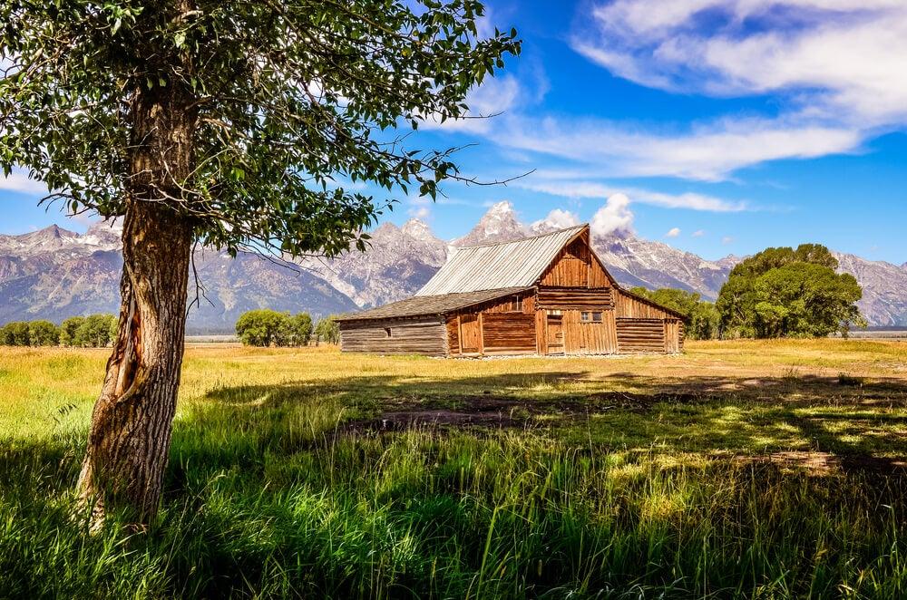 Granja en Wyoming