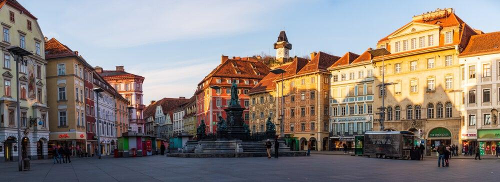 Hautplatz de Graz