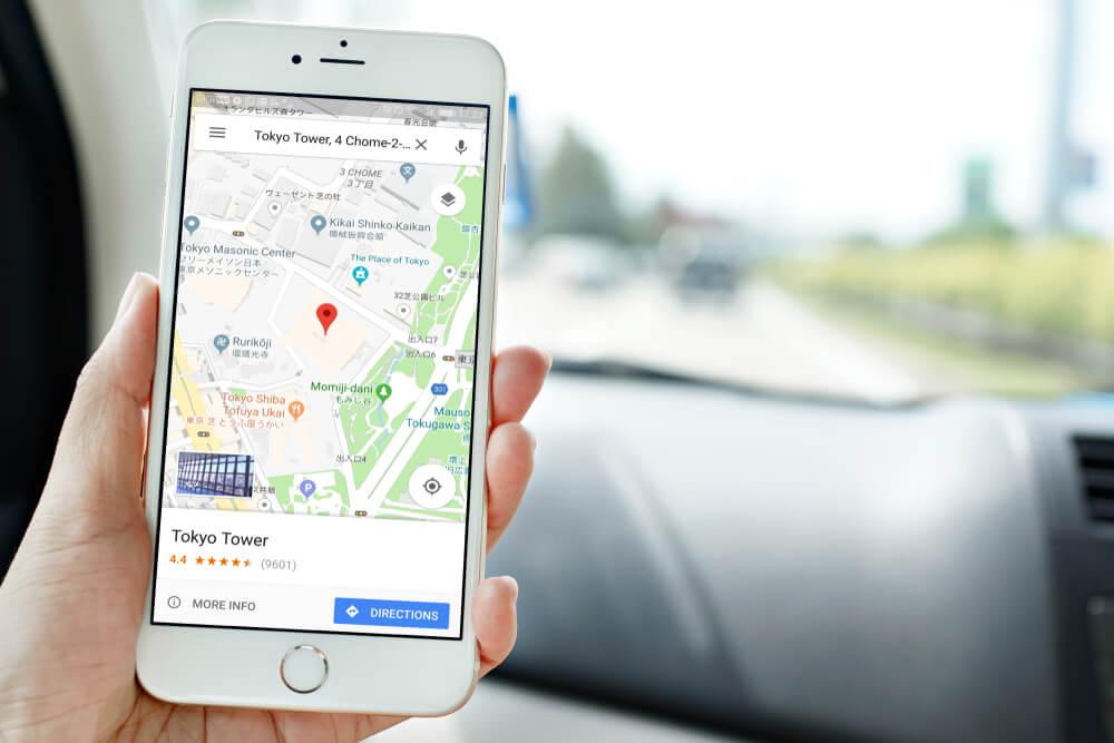 Indicación en Google Maps