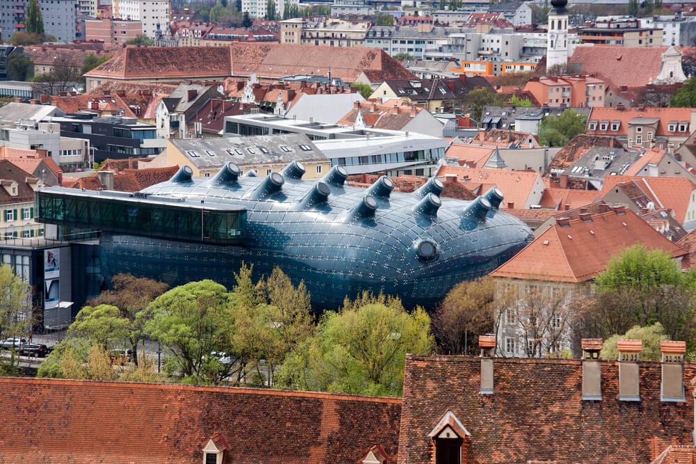 Kunsthaus en Graz