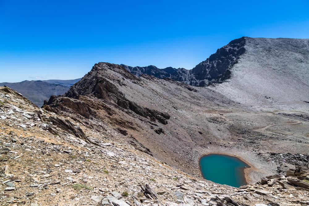 Laguna Calera y Mulhacén
