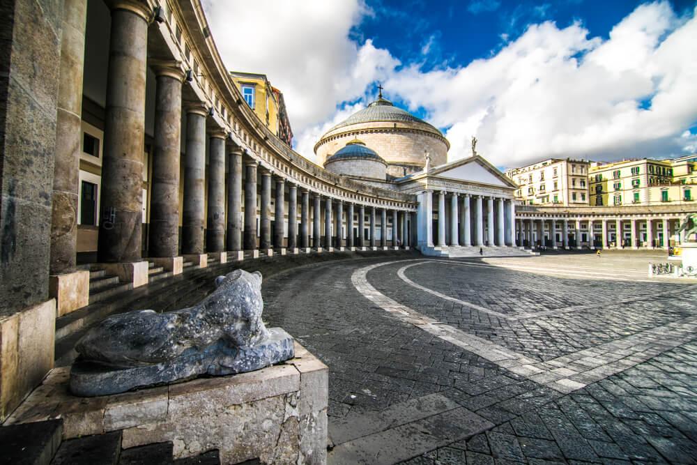 Lateral de la Piazza del Plebiscito