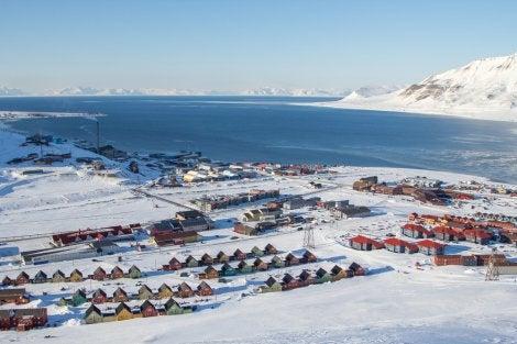 Vista de Longyearbyen