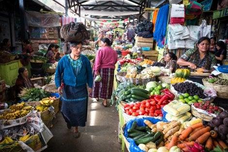Mercado de Sololá, uno de lospueblos de Guatemala más bonitos