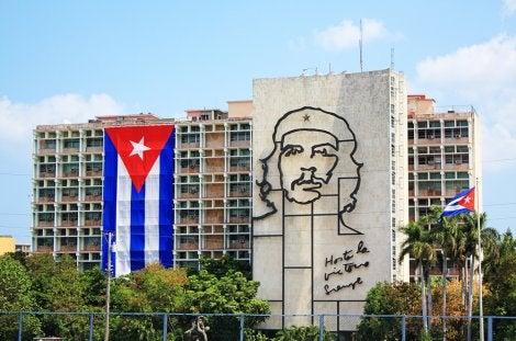 Mural del Che Guevara