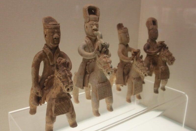Cerámicas en el Museo de Hunan