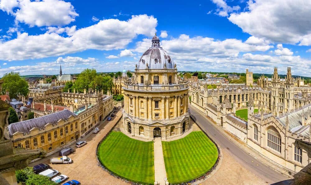 Vista de Oxford