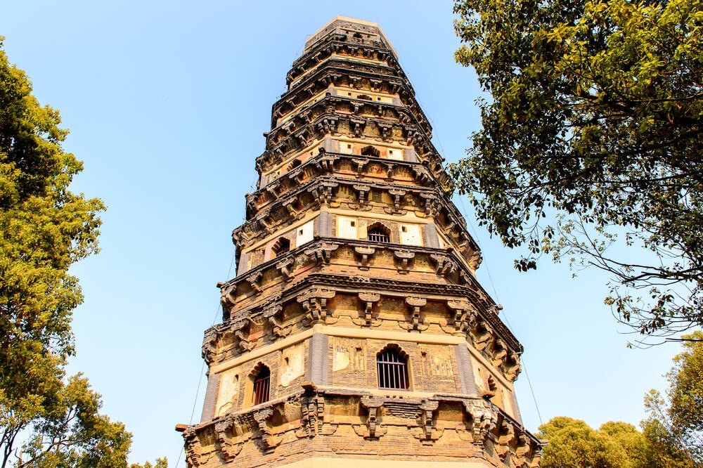 Pagoda deTiger Hill